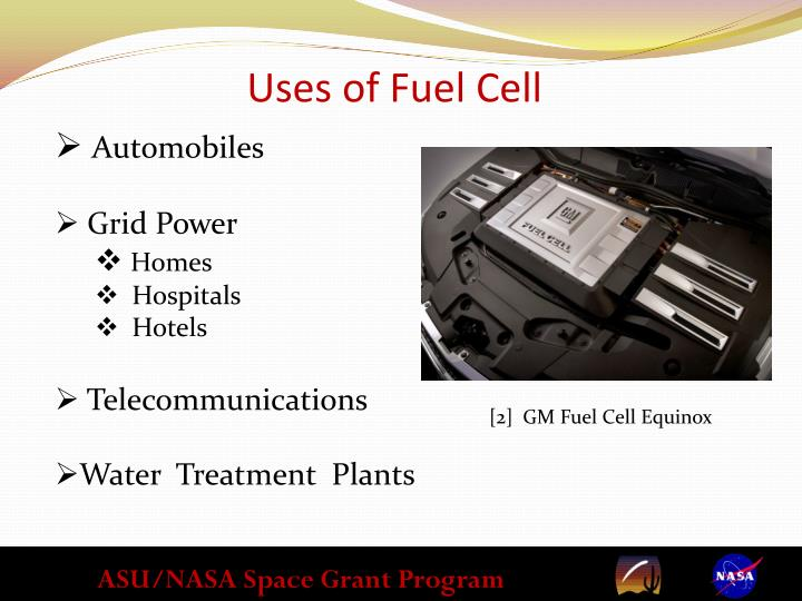 Uses of Fuel Cell