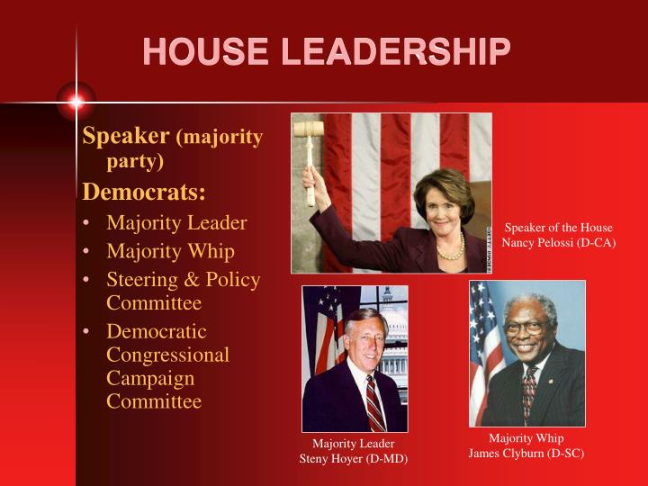 HOUSE LEADERSHIP