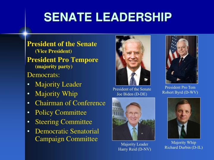 SENATE LEADERSHIP