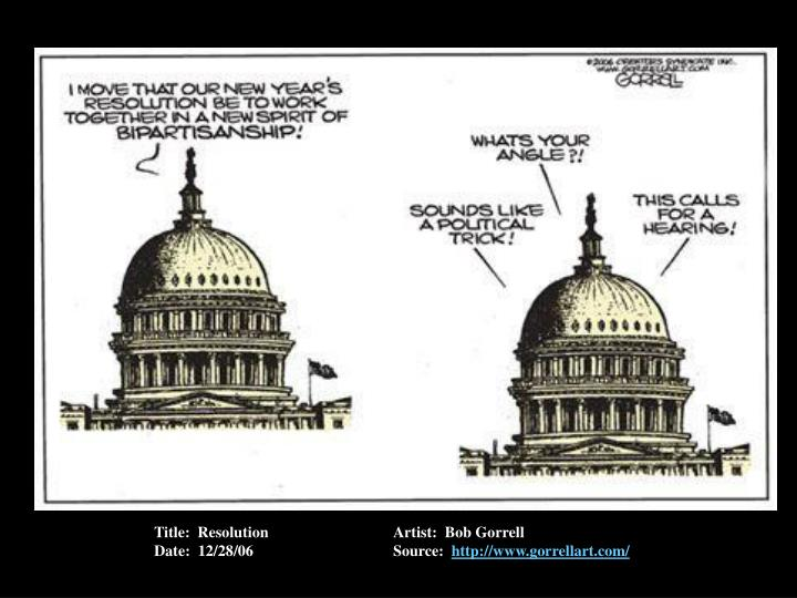 Title:  ResolutionArtist:  Bob Gorrell