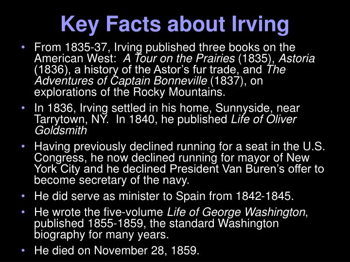 Key Facts about Irving