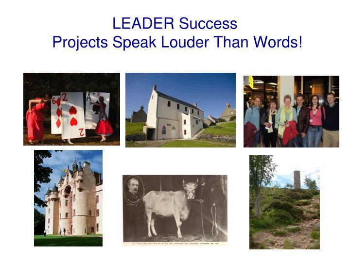 LEADER Success