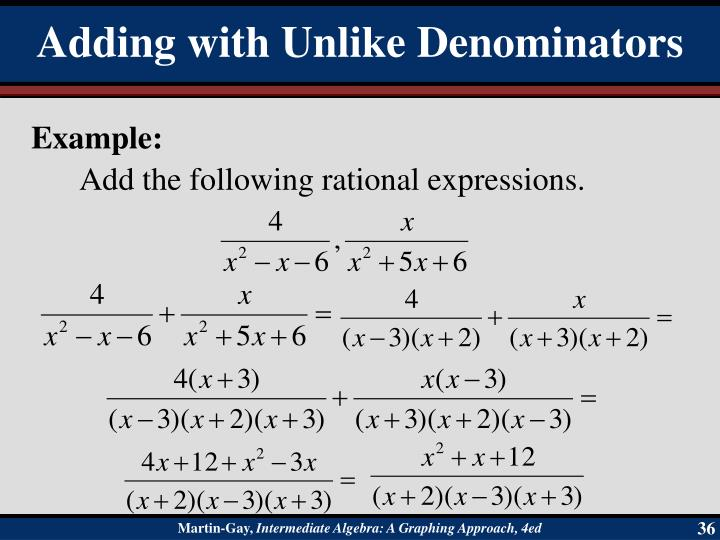 Add the following rational expressions.