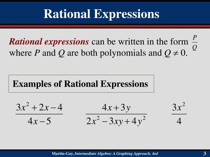Rational expressions1