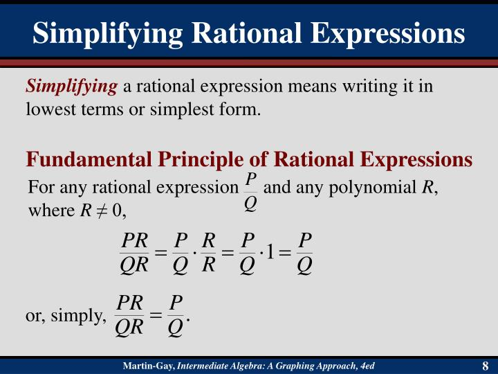For any rational expression     and any polynomial