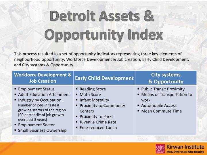 Detroit Assets &