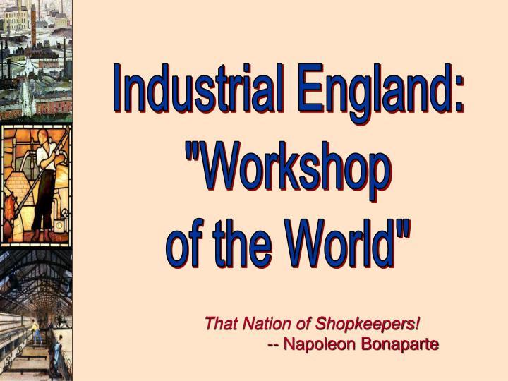 Industrial England: