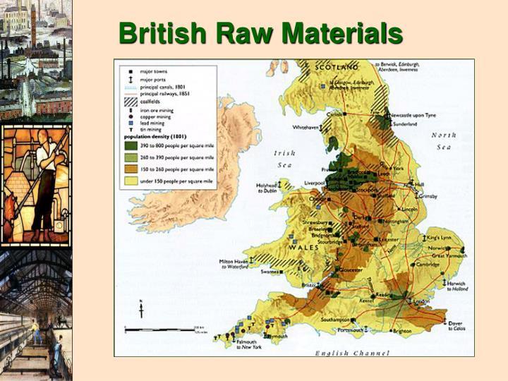 British Raw Materials