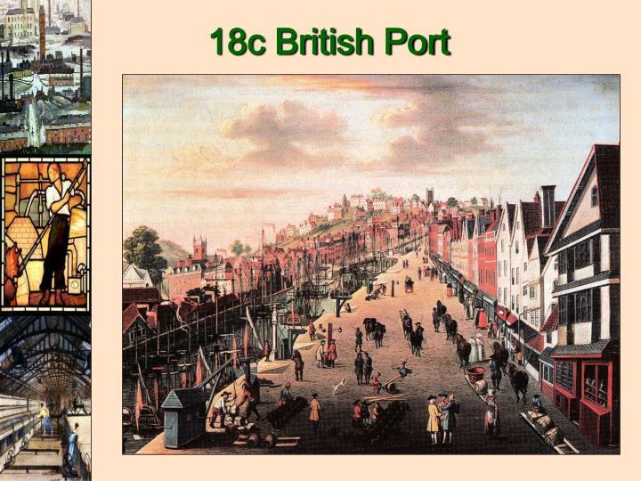 18c British Port