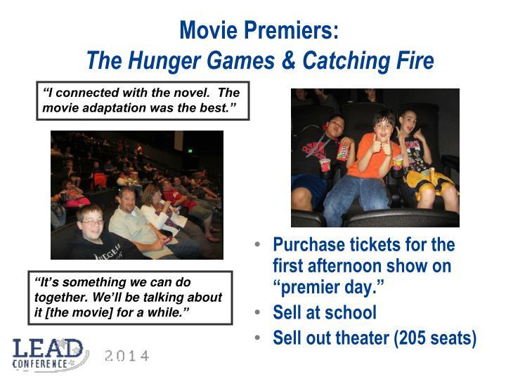 Movie Premiers: