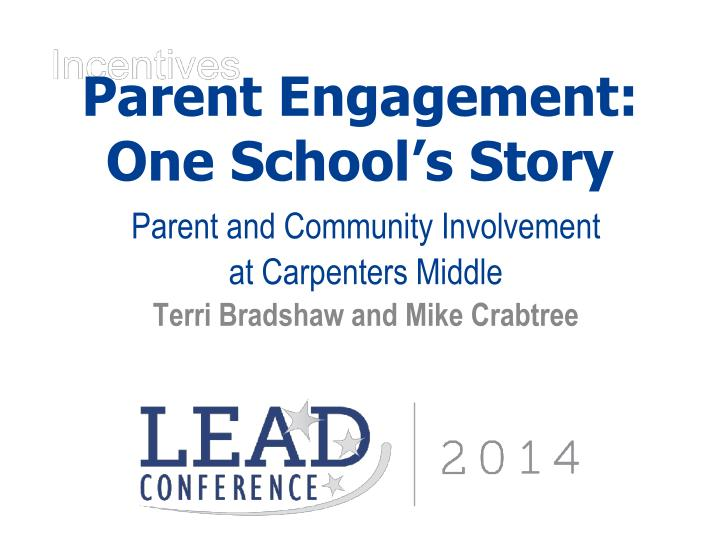 parent engagement one school s story