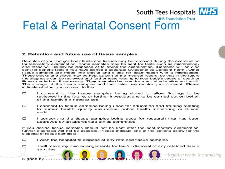 Fetal & Perinatal Consent Form