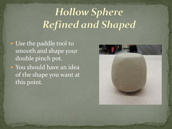 Hollow Sphere