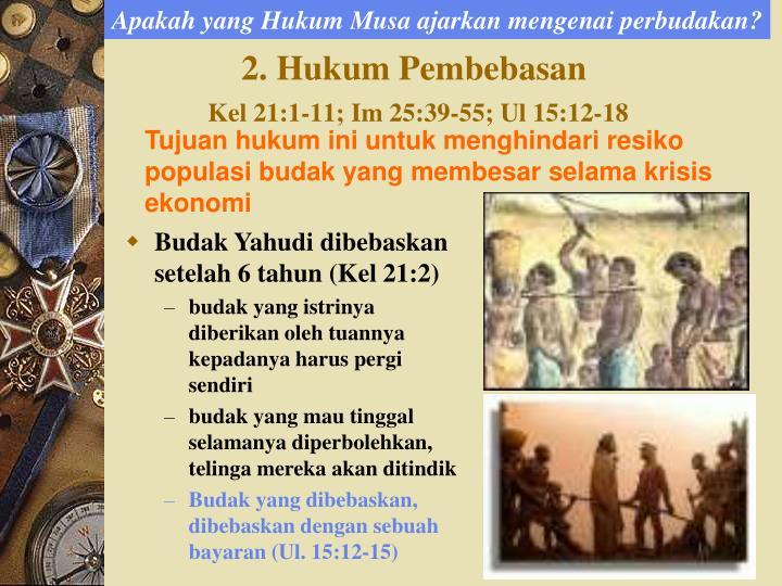 Apakah yang Hukum Musa ajarkan mengenai perbudakan?