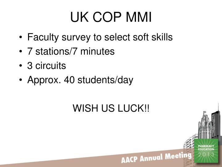 UK COP MMI