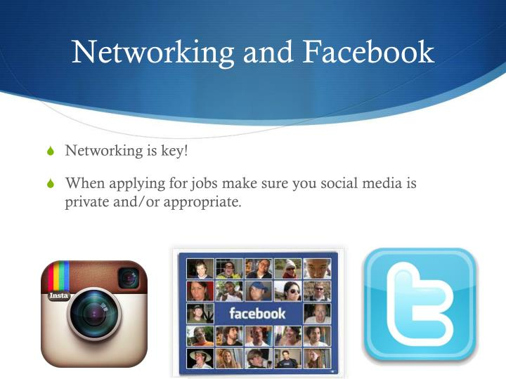 Networking and Facebook