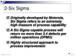 2 six sigma