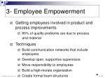 3 employee empowerment