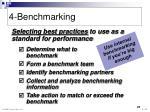 4 benchmarking