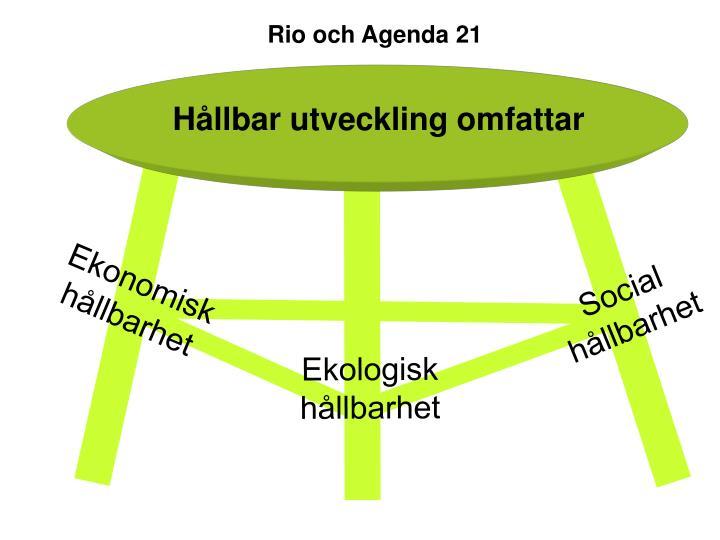 Rio och Agenda 21