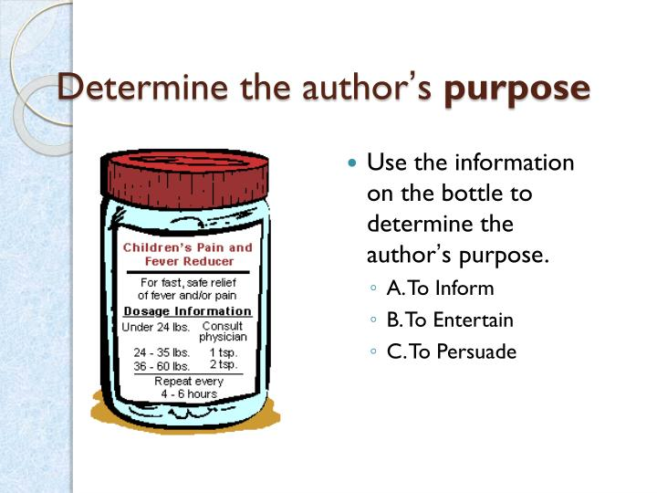 Determine the author