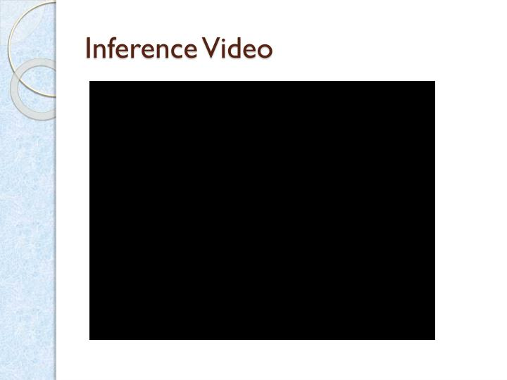 Inference Video