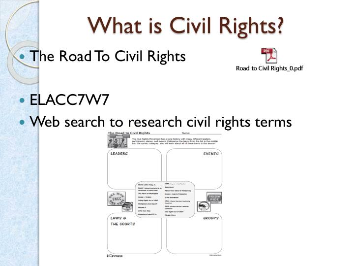 What is Civil Rights?
