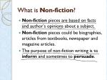 what is non fiction