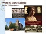 while the world watched carolyn mckinstry s story