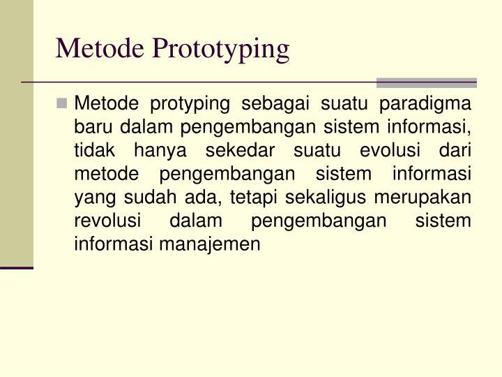 Metode Prototyping