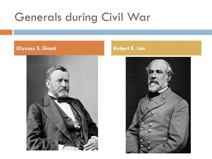 an overview of the generals during the civil war The web's most extensive collection of confederate generals information and free civil war resources  this site: civil war  civil war overview civil war 1861 .