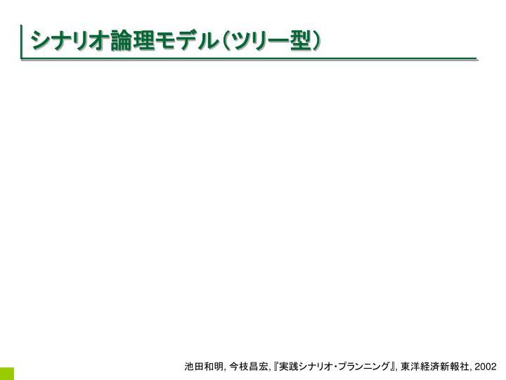 シナリオ論理モデル(ツリー型)