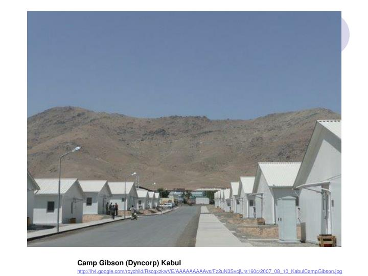 Camp Gibson (Dyncorp) Kabul