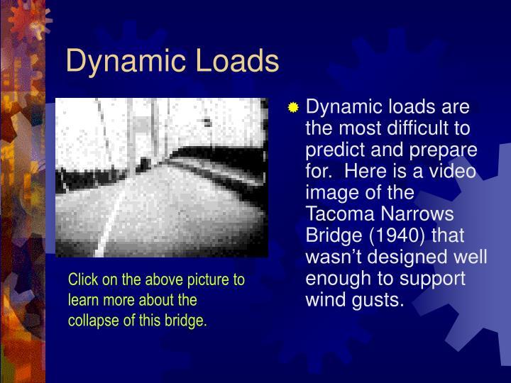 Dynamic Loads