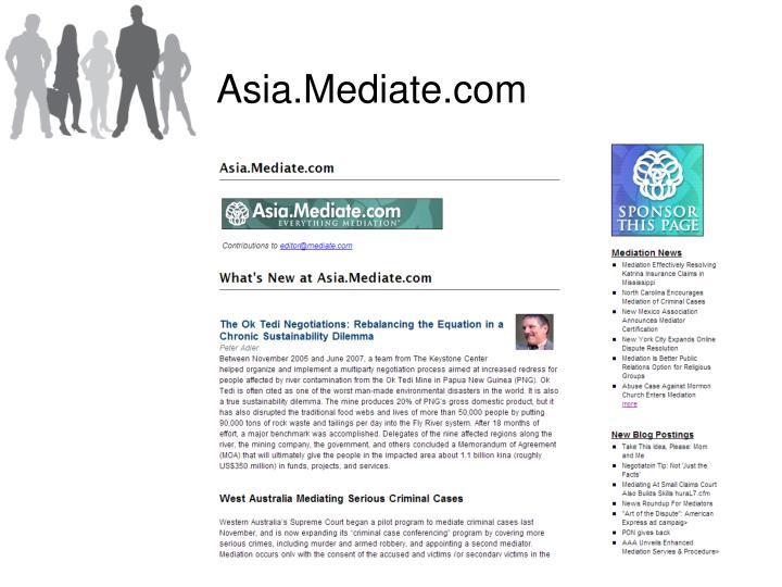 Asia.Mediate.com