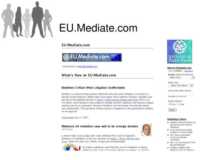 EU.Mediate.com