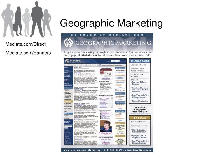 Geographic Marketing