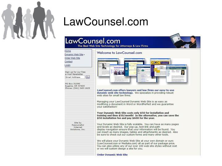 LawCounsel.com