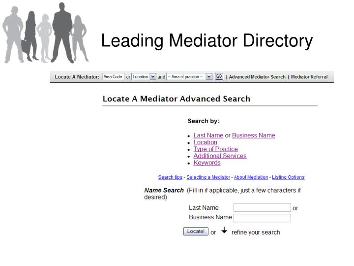 Leading Mediator Directory