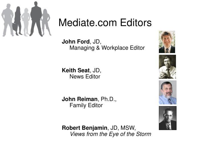 Mediate.com Editors