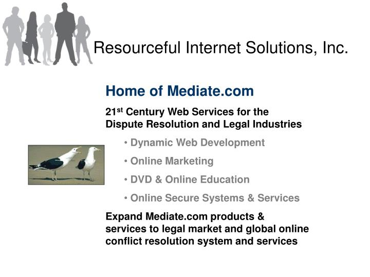 Resourceful internet solutions inc