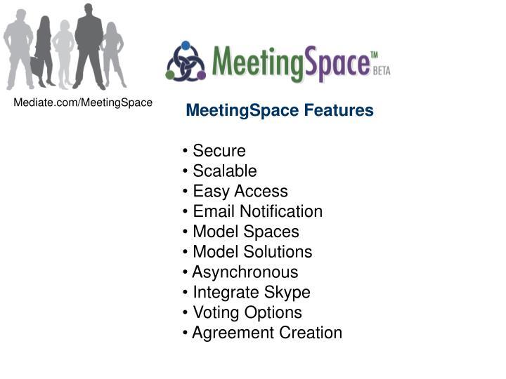 Mediate.com/MeetingSpace