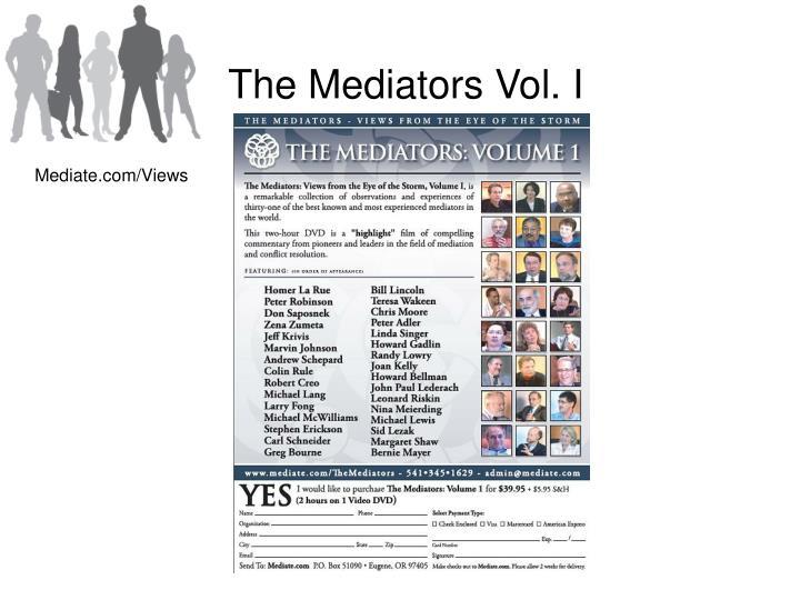 The Mediators Vol. I