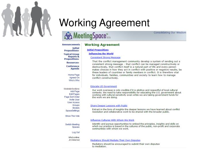 Working Agreement