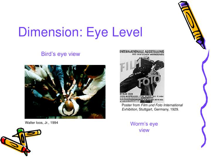 Dimension: Eye Level