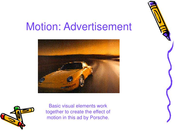 Motion: Advertisement