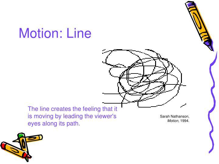 Motion: Line