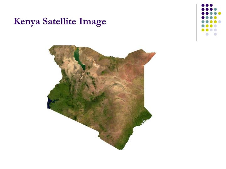 Kenya Satellite Image