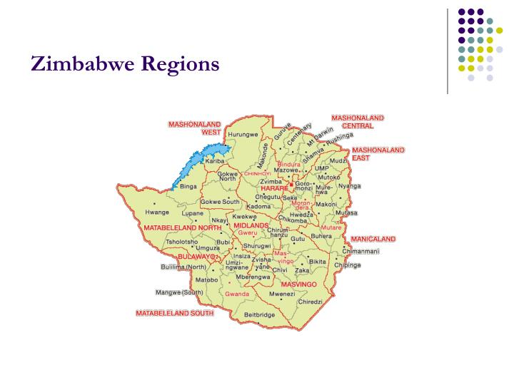 Zimbabwe Regions