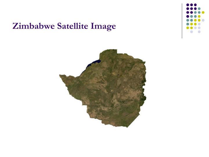 Zimbabwe Satellite Image
